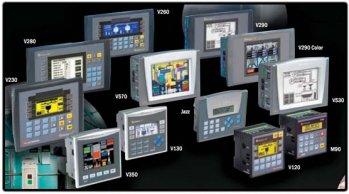 Панели оператора Unitronics с контроллером управления